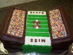 msstate football cake