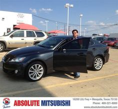 #HappyBirthday to John Tabor from Sergio Ibarra at Absolute Mitsubishi!!