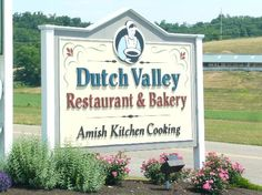 Dutch Valley Restaurant, Amish Country in Ohio.