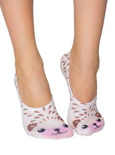 Liner Socks, Hedgehog | Lottie Jane