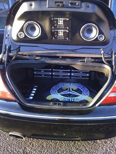 Car Toys Custom Install - Mercedes CLK430