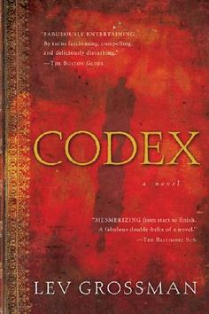 Codex (Paperback) -- If you get this, make sure you order it from this specific bookstore (Greenlight Bookstore), because it will come signed by the author. :)