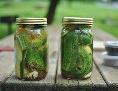 Garlic Dill Refridgerator Pickles