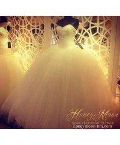 пышное свадебное платье с кристаллами ball gown wedding dress