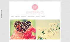 Daydreamer - Blogger Photography Template. $30.00, via Etsy.
