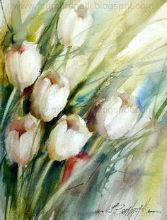 Fábio Cembranelli - A Painter's Diary: tulipas