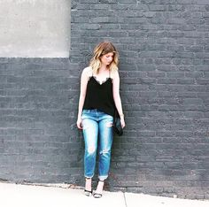 @thelocusofstyle The Locus of Style rocking the Racer black from Cami NYC in Nashville!!  #lovemycami #caminyc #fashion #womensfashion #blogger #bloggerstyle #fashionblogger #streetstyle #model #modelstyle