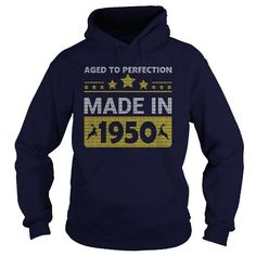 Awesome Tee 1950 Aged to perfection Hoddie Xmas Sweater Shirts & Tees