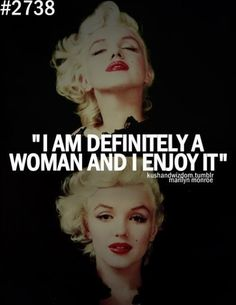"Marilyn Monroe – ""Definitely a Woman"" | Fabulous Quotes"