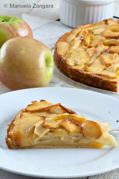 How to make the perfect autumn cake: Creamy Apple Tart!