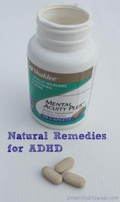 Natural remedies for ADHD. | Katie Marcum