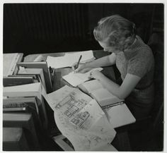 Archaeology student writing at a desk :: Archives & Special Collections Digital Images :: circa Henry Jones Jr, Mount Holyoke College, Vintage Style, Vintage Fashion, Archaeology, Digital Image, Paper Shopping Bag, 1920s, Collections