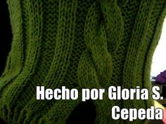 Hecho por Gloria S. Cepeda (courtesy of @Pinstamatic http://pinstamatic.com). Inicio de la blusa se hace por separado y en la primera torzada de la trenza se unen las dos partes.  Sacada de la web.