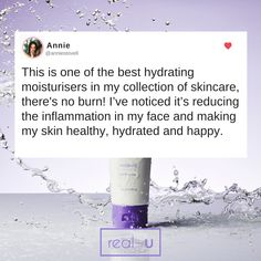 Yippee that's because our Moisturiser has been designed to give your skin just the right amount of moisture to keep those oil glands in balance. In short, this is a perfect moisturiser for everyone with oily or acne-prone skin! Moisturiser, Acne Prone Skin, Skin Problems, Healthy Skin, Sensitive Skin, Your Skin, Lotion, Skincare