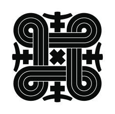 hannunvaakuna -Looped Square Tattoo for Erik