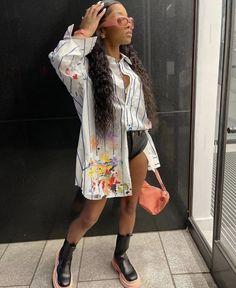 Fall Outfits, Cute Outfits, Fashion Outfits, Fashion Styles, Womens Fashion, Fashion Ideas, Sporty Girls, Cute Friends, Black Girl Fashion