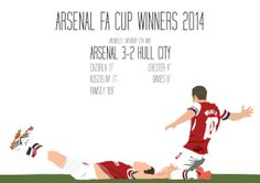 Arsenal FA Cup Winners 2014 A3 Poster: 297mmx420mm Ramsey, Wilshere, Arsenal. Gunners, FA Cup, Trophy, Red, White, Football, London, Soccer Arsenal Fc, Arsenal Football, Dennis Bergkamp, Arsene Wenger, Hull City, Fa Cup, Love Of My Life, Soccer, Club