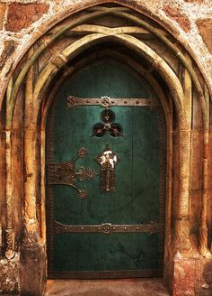 Ancient Door [198/366] by Hörspielhörerin [www.rebekkaplies.de] on Flickr.