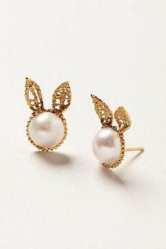 regal rabbit earrings