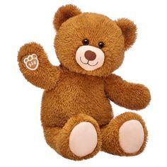 Happy Brown Teddy Bear | Shop Teddy Bears Online Now at Build-A-Bear® Teddy Bear Online, Teddy Bear Shop, Big Teddy Bear, Brown Teddy Bear, Big Stuffed Animal, Stuffed Animals, Purple Teddy Bear, Vermont Teddy Bears, Teddy Bear Sewing Pattern