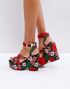 ASOS HAPPY DAYS Flatform Sandals