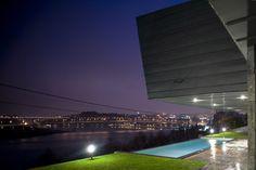 Casa Ribeira de Abade in Valbom (Portugal) designed by Carlos Castanheira  & Clara Bastai, Arqtos Lda. Contractor : ASA, Photographs: Fernando Guerra   FG+SG  #Architecture #Portugal #QuartzZinc #Façade #Project #Zinc #VMZINC #Cladding #IndividualHousing