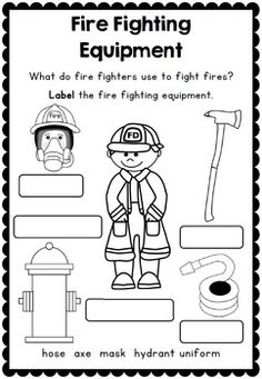 Fire Safety Printables And Support Resources