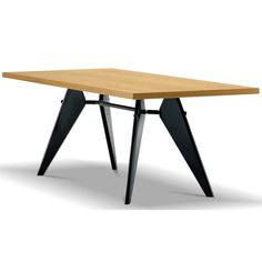 Jean Prouve, EM Table, 1950. LOVE <3 my favorite table-design!!