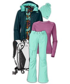 womens outfits   Displaying (19) Gallery Images For Womens Snowboarding Outfits...