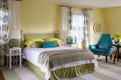 i like the color combination in this bedroom ...traditional bedroom by Andrew Suvalsky Designs