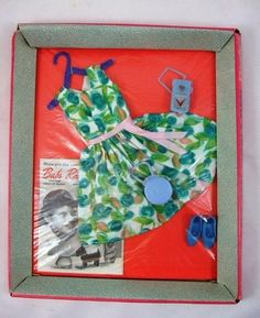 """This is an original """"Andy"""" outfit by EEGEE this is his """"Striped Pajamas"""" outfit. Note: this outfit or any other outfits of Andy are very hard to find, their were at least 12 outfits made for him. Vintage Barbie Clothes, Vintage Toys, Doll Clothes, 1970s Dolls, Barbie Dolls, Striped Pyjamas, Barbie Friends, Other Outfits, Collector Dolls"""