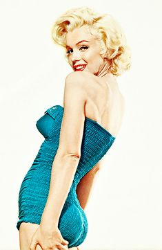 Marilyn Monroe in a promotional poster for How to Marry a Millionaire (1953)