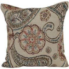 Paisley Decorative Pillow  found at @JCPenney