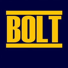 BOLT (bold straight edge logo cover)