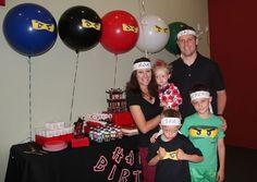 Lego Ninjago, Ninja Birthday Party Ideas | Photo 3 of 20