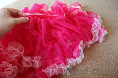 #pettiskirt #DIY She even tells you where to buy the chiffon! | Make It and Love It