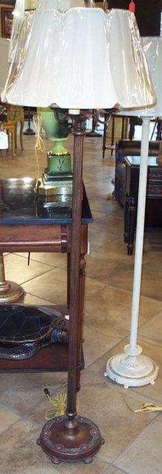 Upcycled w little embellishment $399 antique-floor-lamp-3-arm-11.jpg (257×749)