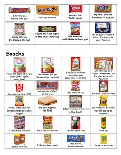 Sayings To Go With Candy Bars
