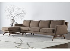 American Walnut + Ash Sofas & Sectionals - American Leather