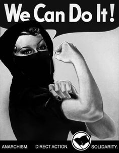 #anarchism #anarchy #anarchafeminism #blackbloc