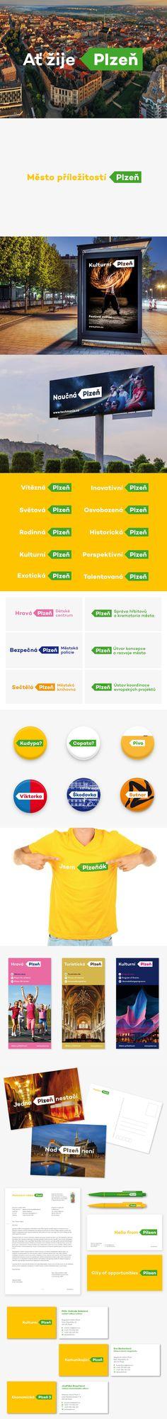Plzeň City New Logo & Identitny