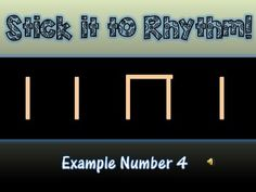 STICK IT TO RHYTHM! - TeachersPayTeachers.com