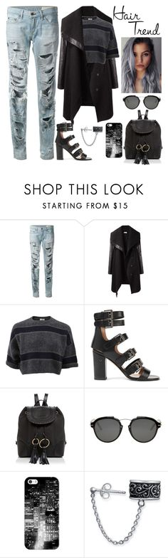 """""""Matchy style"""" by chiaral95 ❤ liked on Polyvore featuring beauty, rag & bone, Helmut Lang, Brunello Cucinelli, Laurence Dacade, See by Chloé, Christian Dior, Casetify, Bling Jewelry and hairtrend"""
