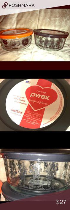 New  Pyrex Set Collectible Halloween New  Pyrex Set Collectible Halloween in orange and black, Skelton and jack o lantern pyrex Other