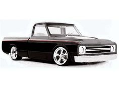 Clean, lowered Chevy Hot Rod Pick-up Lowered Trucks, C10 Trucks, Chevrolet Trucks, Pickup Trucks, 1957 Chevrolet, Chevrolet Impala, Lifted Trucks, Chevy Silverado, Chevy Pickups