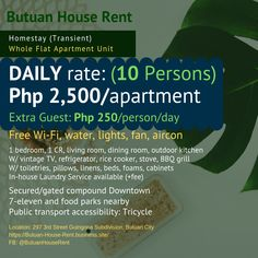 Apartment for Homestay in Butuan City Boarding House, Dormitory, Vintage Tv, Bbq Grill, Outdoor Dining, Drugs, Smoking, Drinking, Alcoholic Drinks