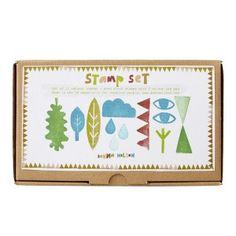 Donna Wilson Rubber Stamp Set #donnawilsongiftsforkids