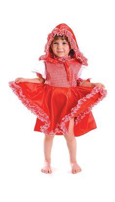 Костюм Красной Шапочки для маленьких девочек — http://fas.st/TQkkNL