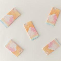 iPhone/Galaxy/Xperia Case「桃色の、雲」