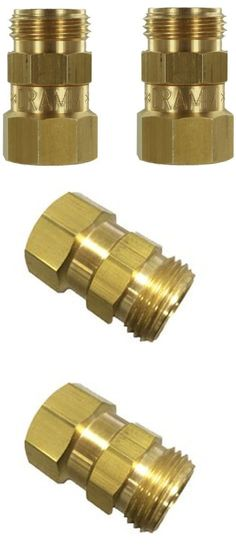 Connectors Clamps and Fittings 181013: Pack Of 2 - Dramm Garden Hose Brass Swivel -> BUY IT NOW ONLY: $41.31 on eBay!